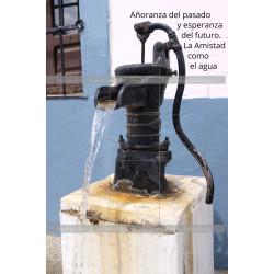 Fuente de agua La Amistad