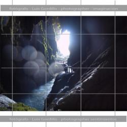 Interior gruta
