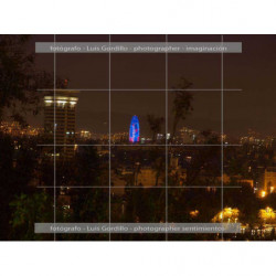 Vista Nocturna Barcelona