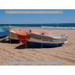 Barcas junto a la playa