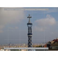 Vista Barcelona desde Gaudi