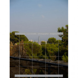 Vista torre agbar Barcelona