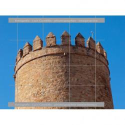 Almena de torre Zafra