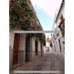 Balcones de geraneos