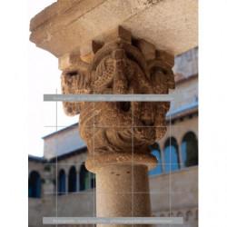 Capitel claustro-1 Sant Cugat