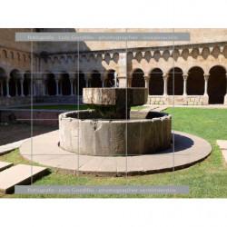 Pila circular claustro Sant...
