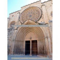 Puerta iglesia Sant Cugat