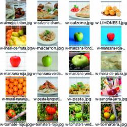 Pack variado de frutas,...