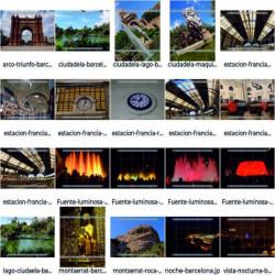 Lugares en Barcelona Pack-1