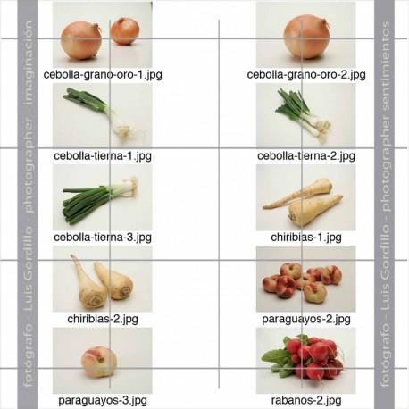 Pack FV-3-2 hortalizas y frutas