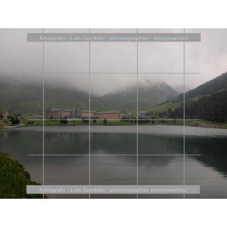 Vista del Lago Vall de Núria